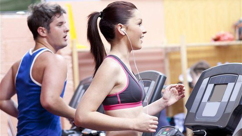 beh na páse - fitness-centrum - cvičenie pod...