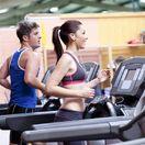 beh na páse - fitness-centrum - cvičenie pod strechou
