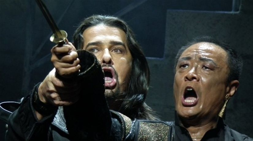 Dalibor Jenis ako Jago a WeiLong Tao ako Otello...