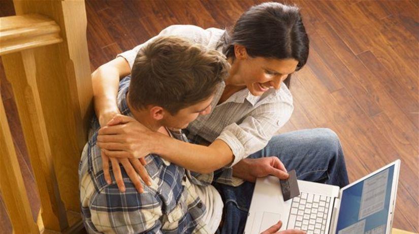nákup, eshop, internet, kreditka, notebook