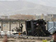 Afganistan, útok, vojaci