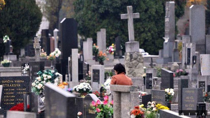 cintorín, hroby, dušičky, pamiatka zosnulých