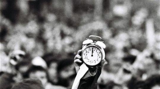 nežná revolúcia, november 1989