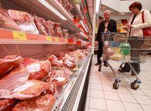 Mäso, obchod, nákup, reťazec