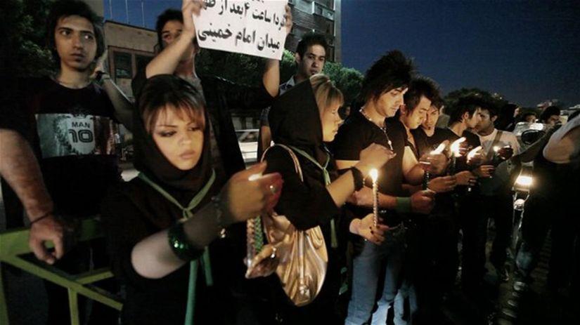 Záber z filmu Väznica Irán