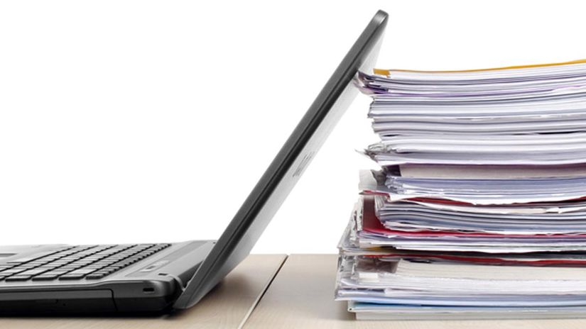 spis byrokracia podnikanie počítač šanon