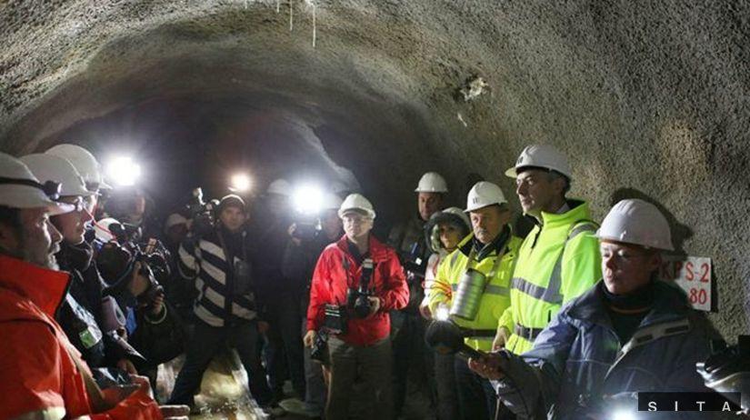 Tunel Višňové, štôlňa