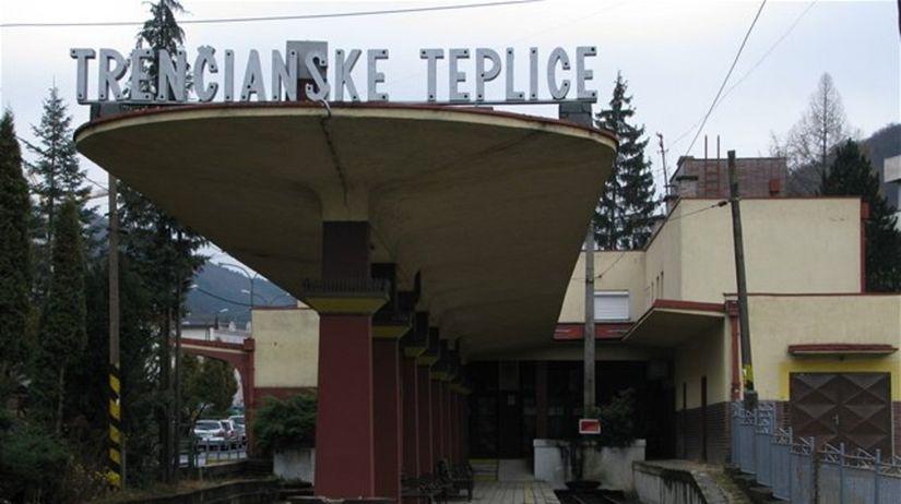 Trenčianske Teplice, železničná stanica,...