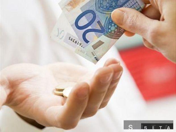 Peniaze, euro, sporenie, mzda, plat