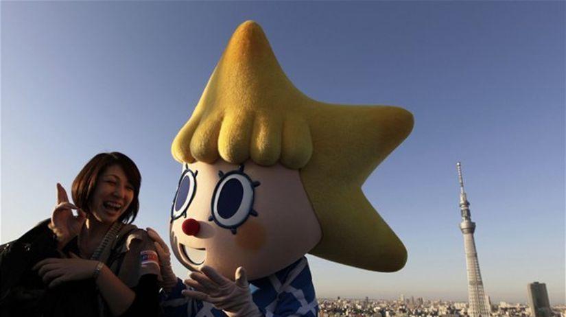 vysielacia veža, Japonsko, maskot, postavička,...