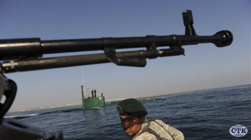 Irán, námorné cvičenie, zbrane