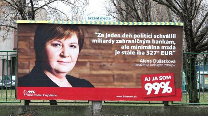 99 percent, Alena Dušatková