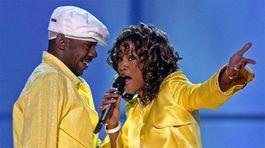 Whitney Houston a Bobby Brown