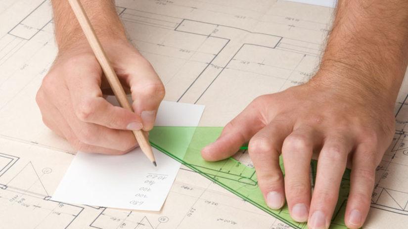Stavba, plány, bývanie