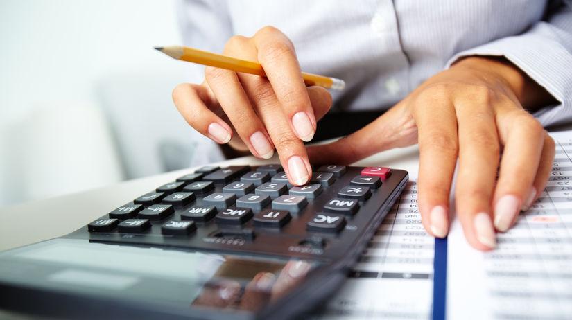 kalkulačka, odvody, dane, výpočet