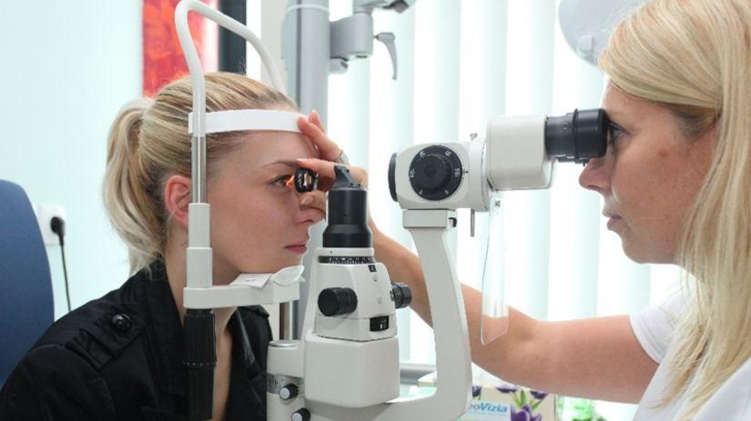 prehliadka, očný lekár, oči, vyšetrenie oka