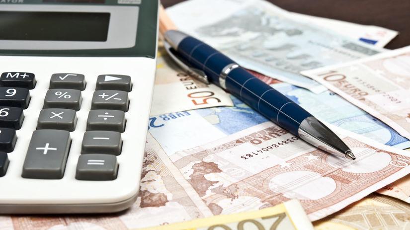 dane, odvody, dôchodok, kalkulačka