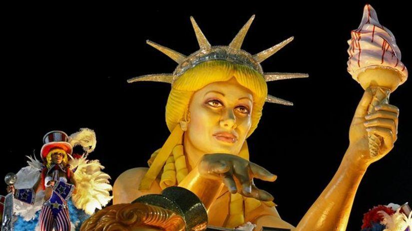karneval - Brazília - Rio de Janeiro 2012