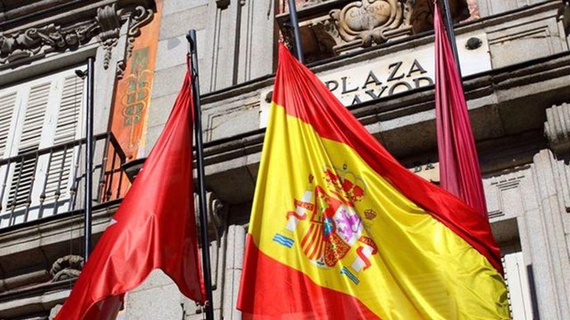Španielsko, vlajka, Madrid
