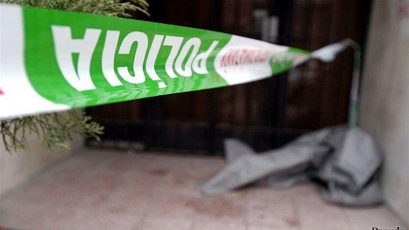 polícia, páska, vražda, smrť