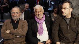 Claude Brasseur, Jean-Paul Belmondo a Jean Reno