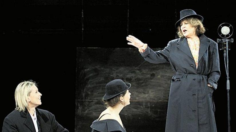 Ingrid Timková, Ivana Kuxová a Emília Vášáryová
