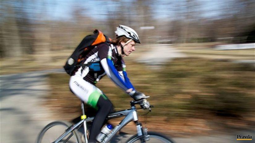 bicykel, cyklista