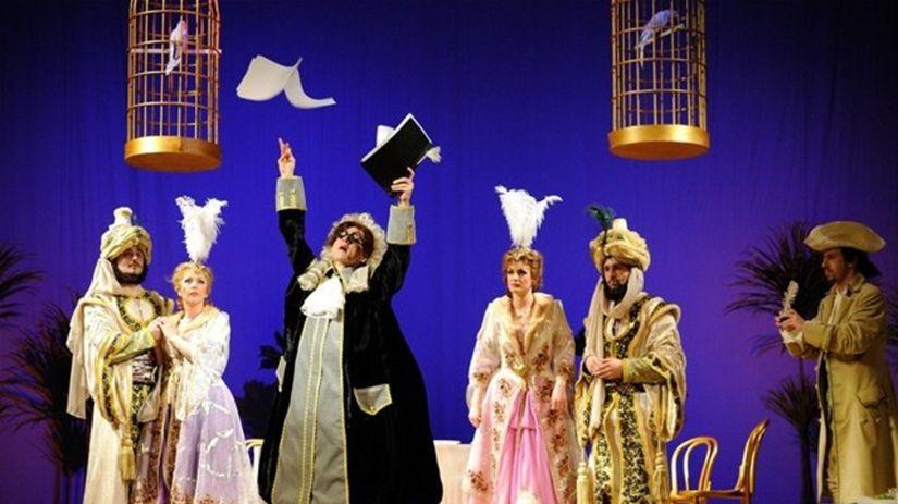 Banskobystrická inscenácia Mozartovej opery...
