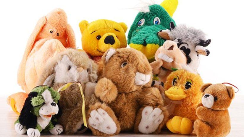 hračky, plyšáky