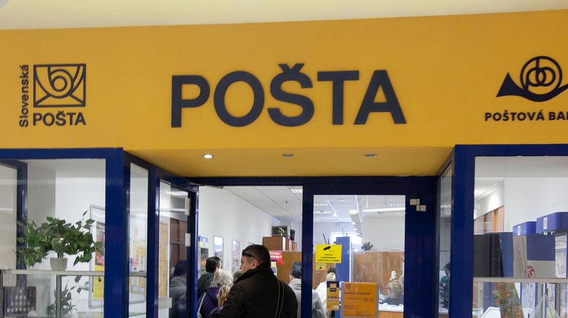 pošta, list, poštár