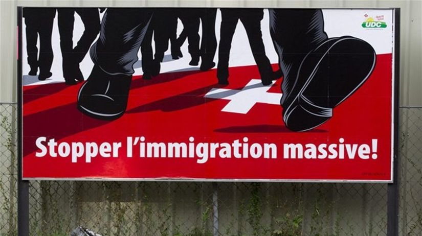 Švajčiarsko, radikáli, imigrácia, cudzinci