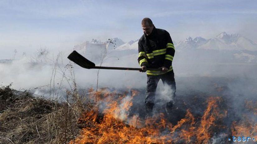 Vypaľovanie trávy, požiar