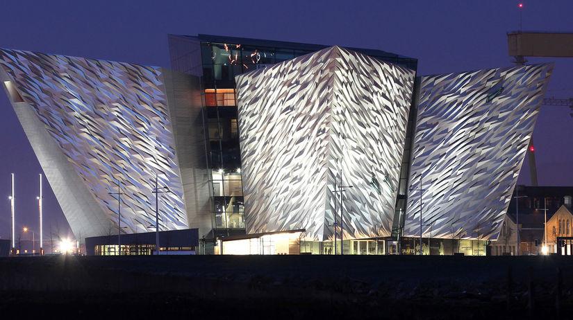 Belfast, múzeum Titanicu