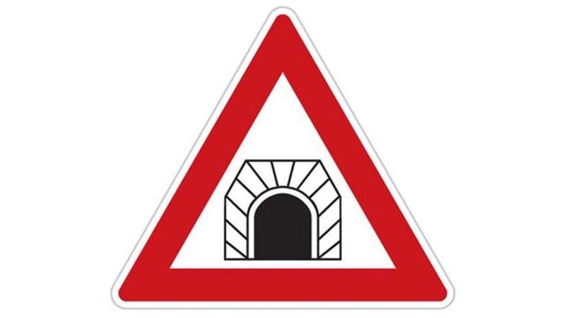 Tunel, značka