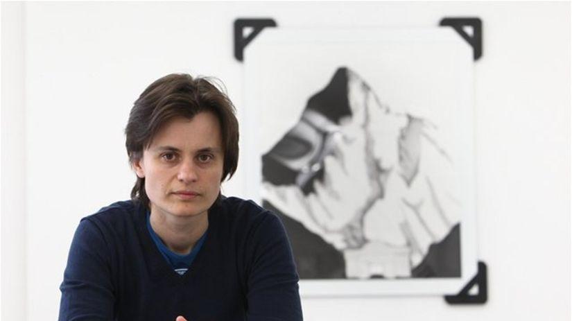 Mária Čorejová vystavuje najnovšiu tvorbu v...