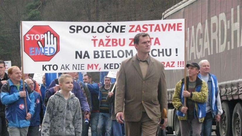 protest, Detva