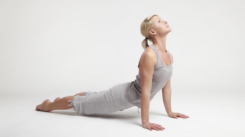 joga, cvičenie, fitnes, chrbtica