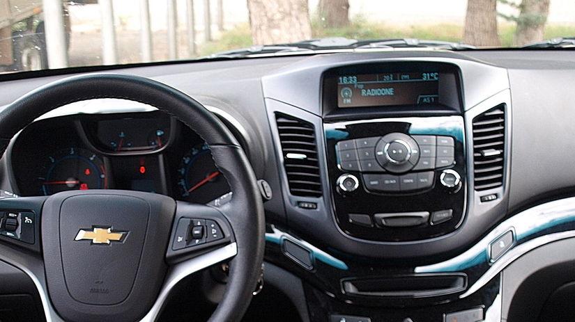 Test Chevrolet Orlando 20 Vcdi Cena Rozhoduje Testy Auto