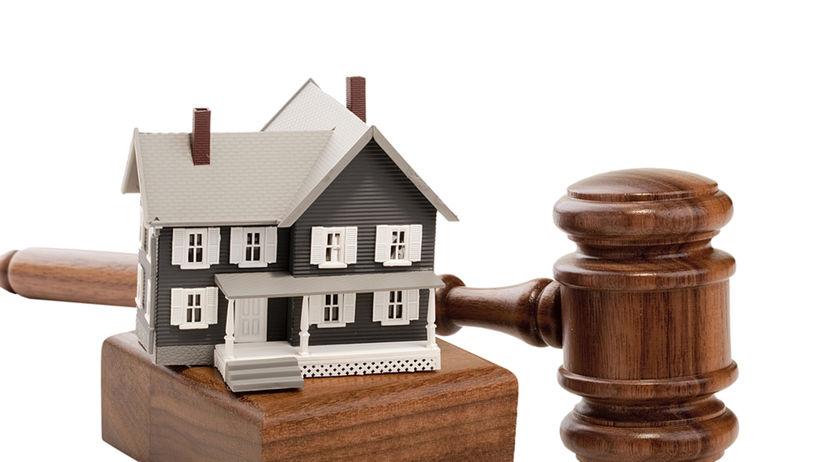 rozvod, dražba, nehnuteľnosť, majetok