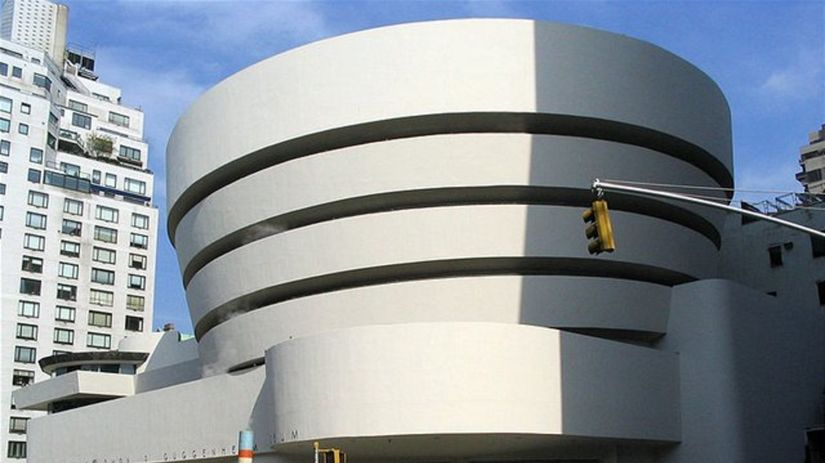 Guggenheimovo múzeum v New Yorku.