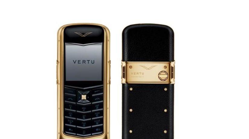 Nokia Vertu, mobilný telefón zo zlata