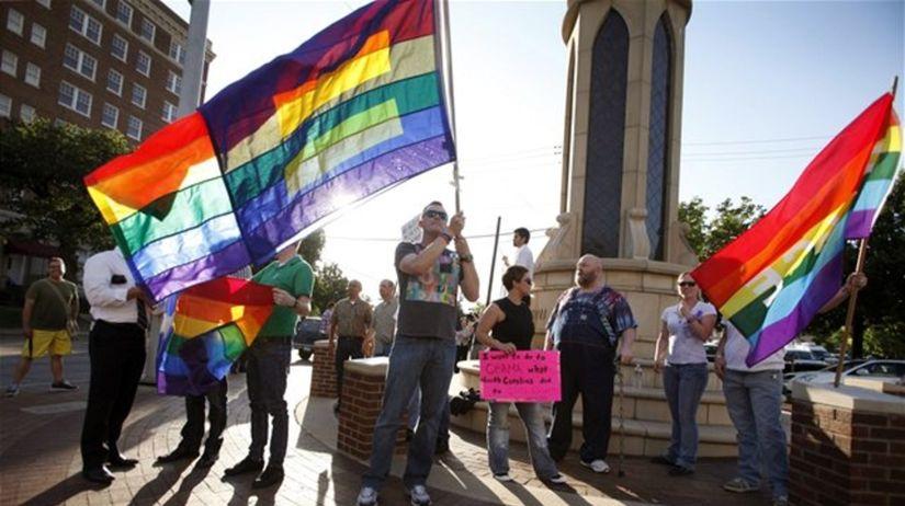 homosexuáli, duhova vlajka, registrované...