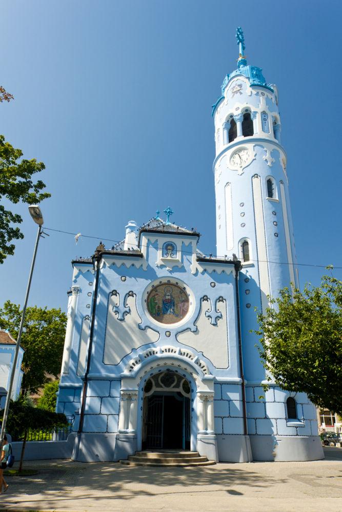 Kostol sv. Alžbety Uhorskej (Modrý), Bratislava