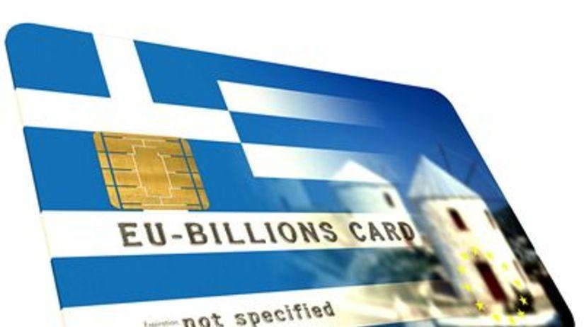 Grécko, karta, peniaze, kríza