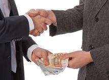 hypotéka, úver, úplatok, dohoda, platba