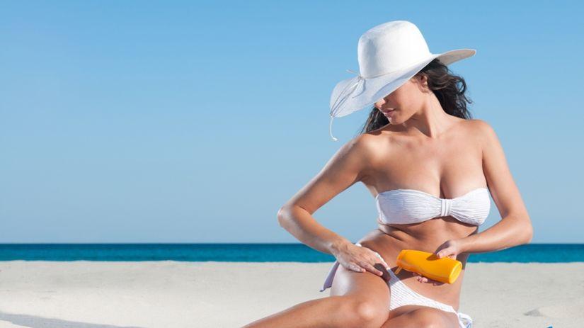 leto, pláž, slnko, opaľovanie, UV faktor, krém,...