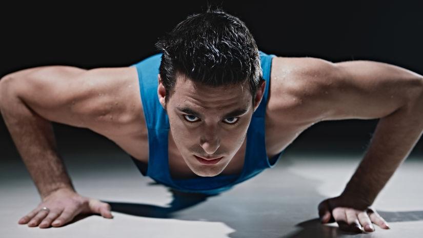 cvik, cvičenie, svaly, fitnes, klik