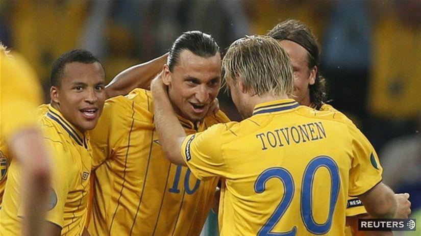 Zlatan Ibrahimovič, Švédi