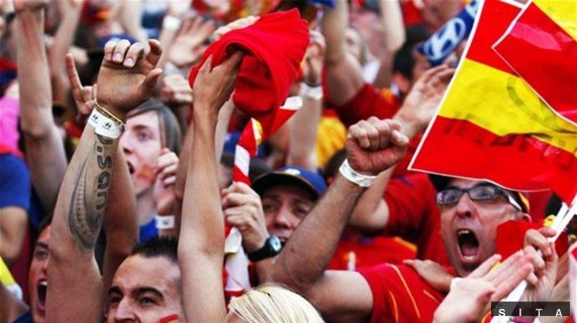 Španielsko, fanúšikovia