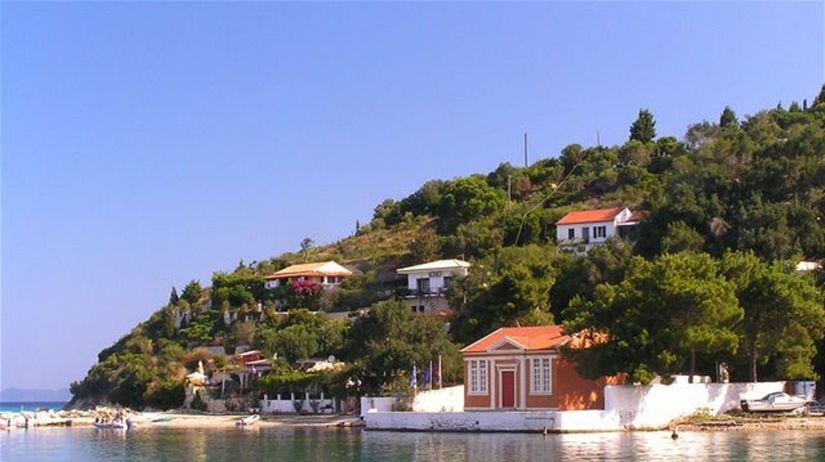 Korfu, dovolenka